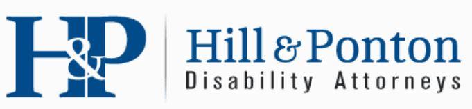 logo for Hill & Ponton, Disability Attorneys